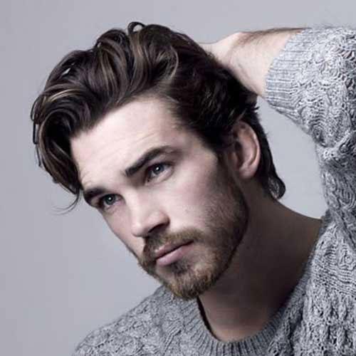 gaya rambut pria 2021 bro flow