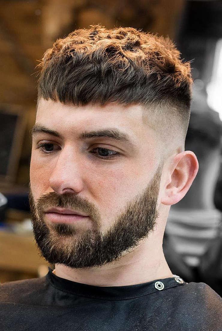 gaya rambut pria 2021 french crop