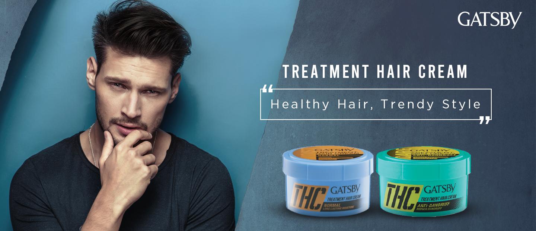 TREATMENT HAIR<br>CREAM - Gatsby