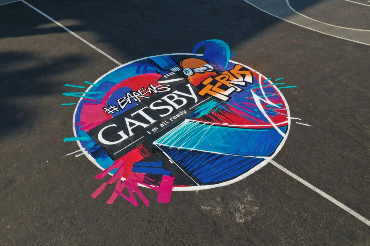 acara gatsby dengan herzven perawatan lapangan basket