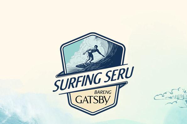 Surfing Seru Bareng Gatsby