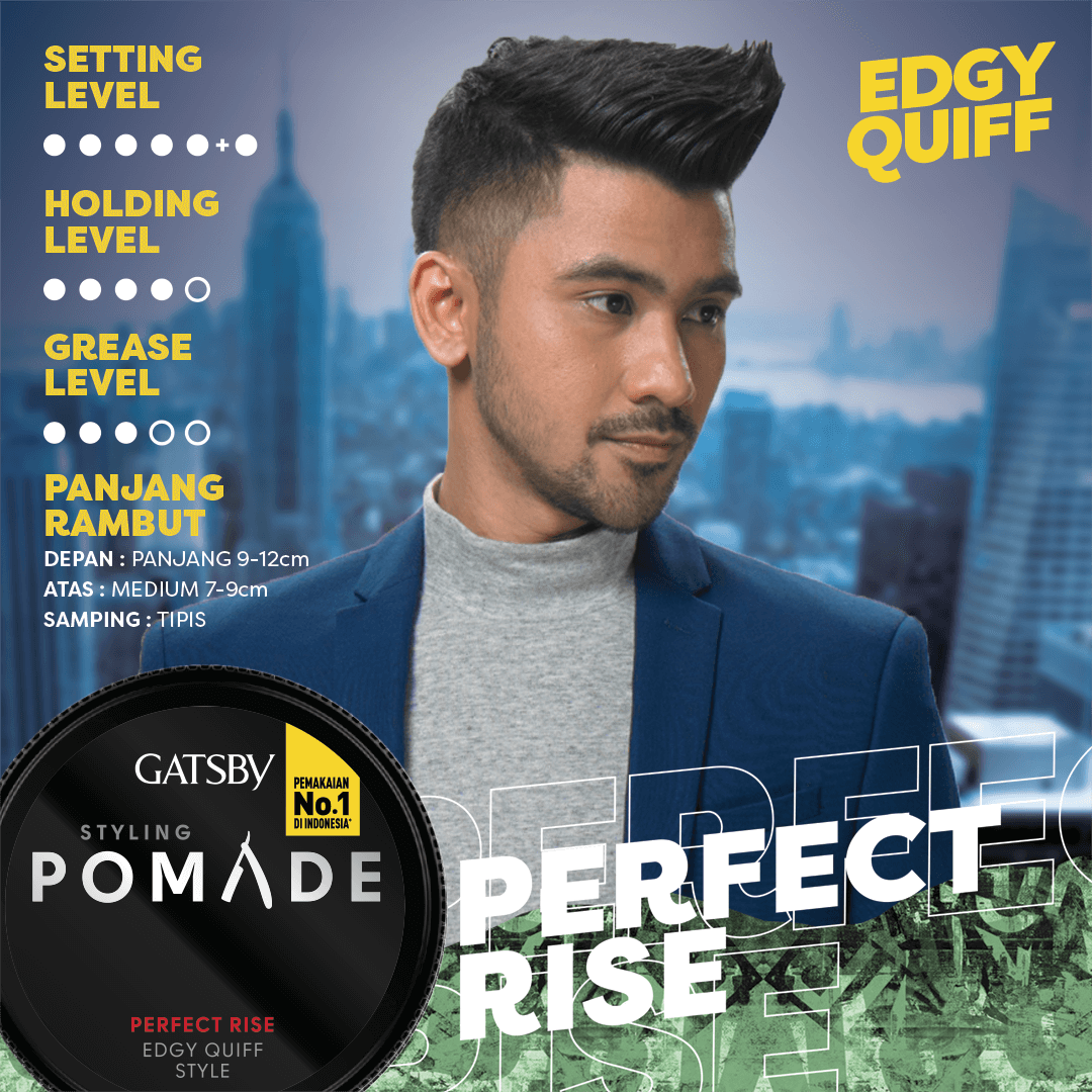 STYLING POMADE PERFECT RISE - Gatsby