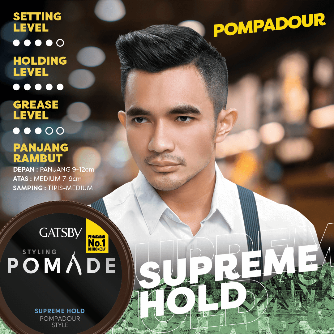 STYLING POMADE SUPREME HOLD - Gatsby