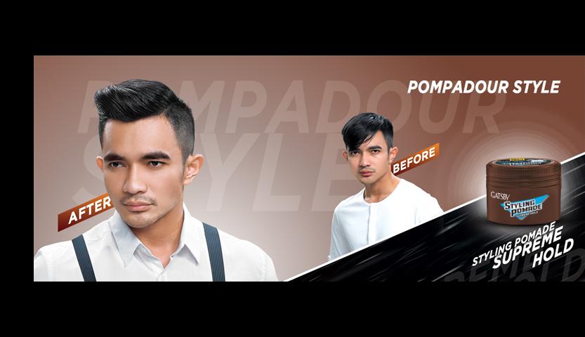 POMPADOUR STYLE - Gatsby